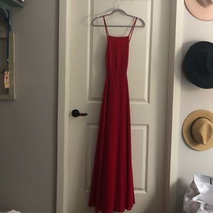 Lulus maxi / bridesmaid dress